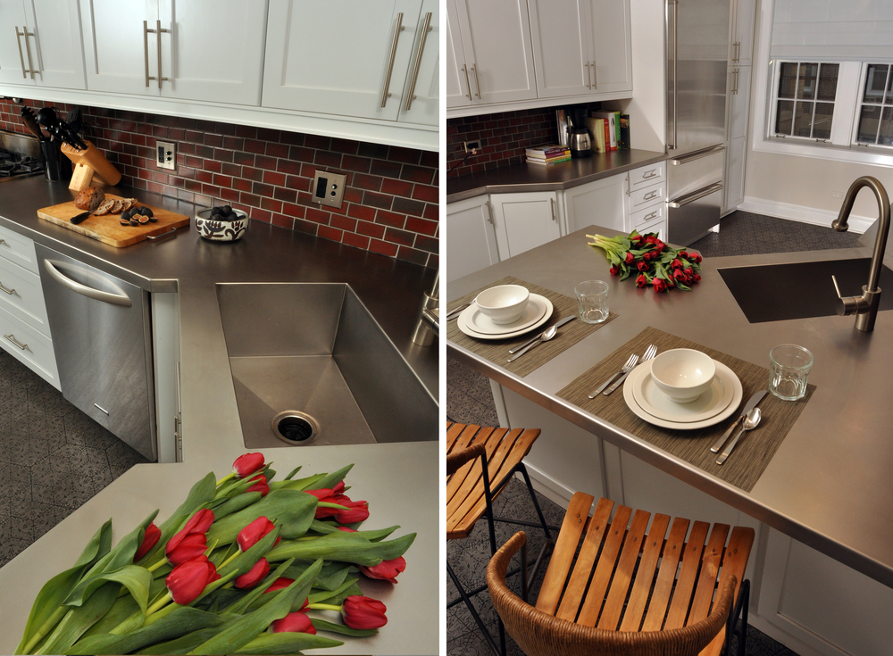 Evanston Historic Condo Kitchen Nicholas Moriarty Interiors – Condo Kitchen