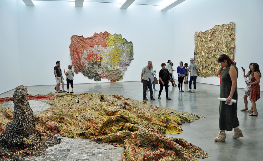 ©EL ANATSUI.  COURTESY OF THE ARTIST AND JACK SHAINMAN GALLERY, NEW YORK