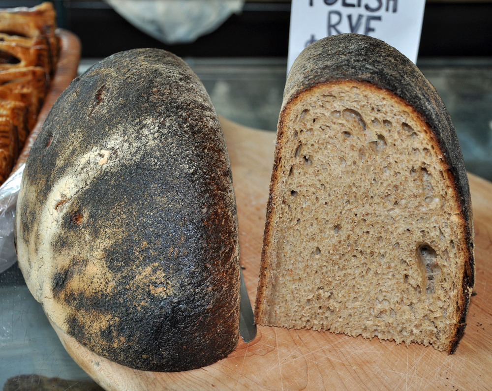 POLISH RYE BREAD (ENORMOUS IN SIZE AND SOLD BY THE POUND)