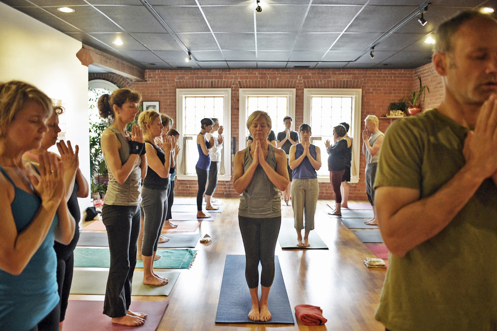PHOTO COURTESY TOM ROSENTHAL/ SRUTI YOGA CENTER
