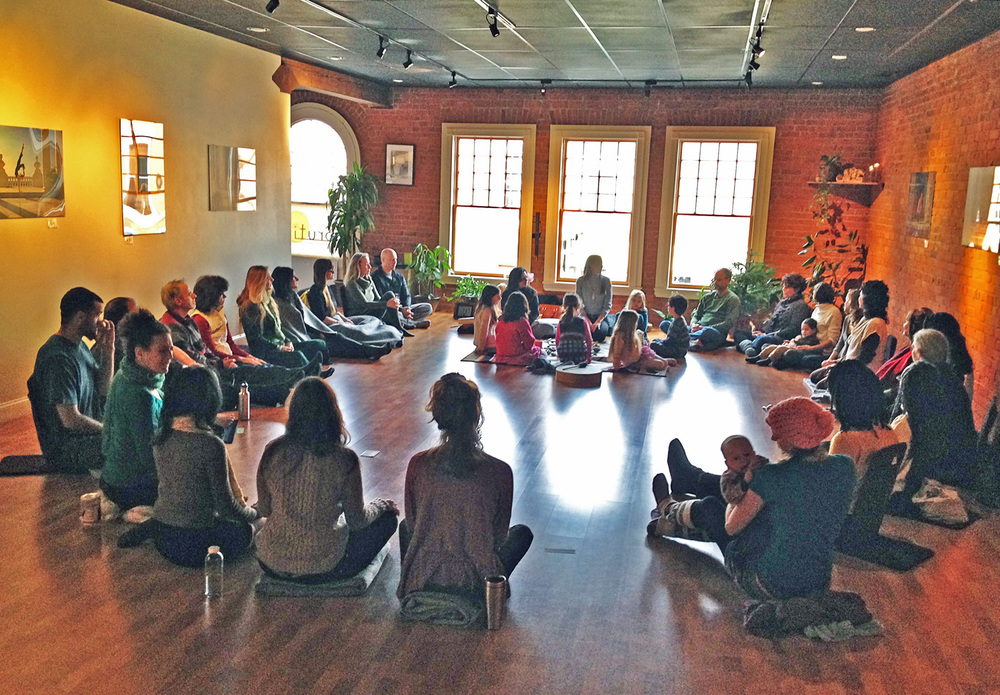 PHOTO COURTESY AMY WEBB/ SRUTI YOGA CENTER