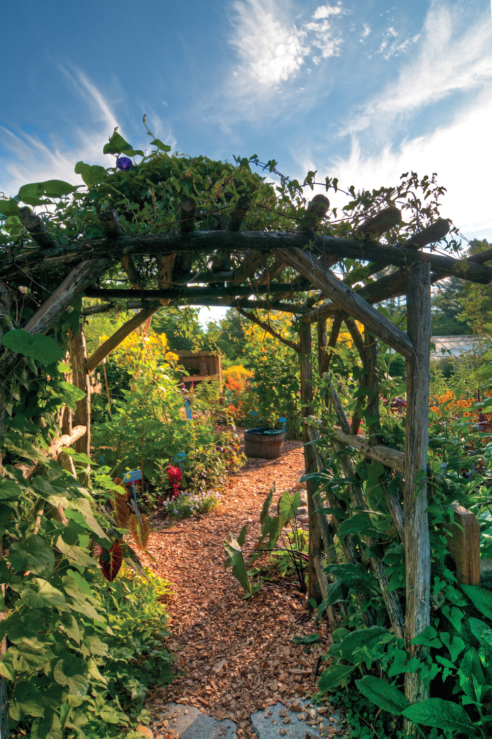 Children's garden, berkshire botanical garden, photo: jack sprano, courtesy berkshire botanical garden