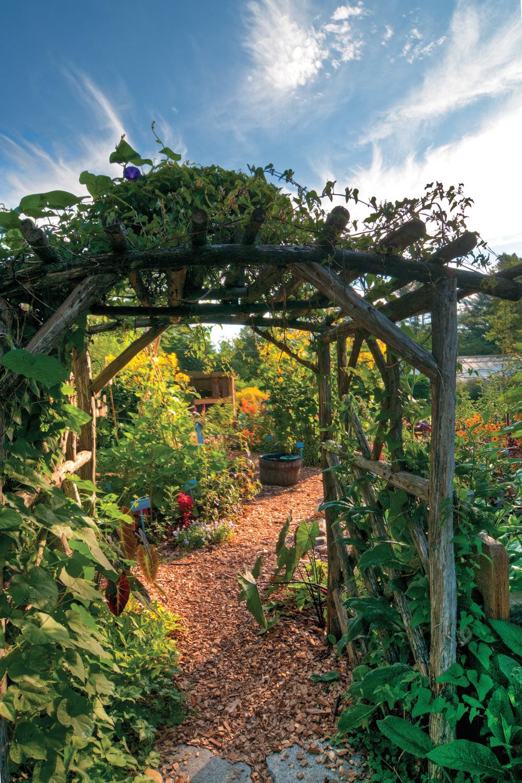 Children's garden, berkshire botanical garden, photo: jack sprano, courtesy berkshire botanical garden