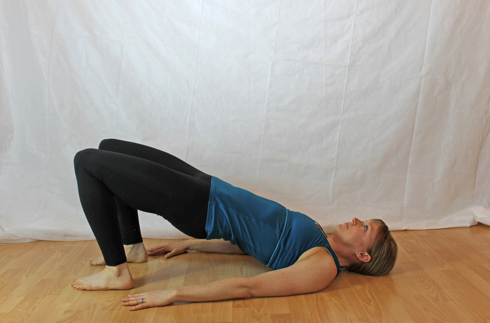 Image 5: bridge pose