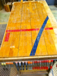 original section of floor