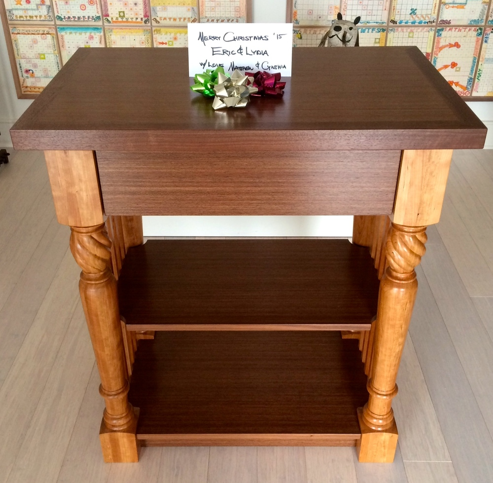 Once baby is out of diapers this furniture piece can be used in a variety of  ways such as a small buffet or a dry bar!