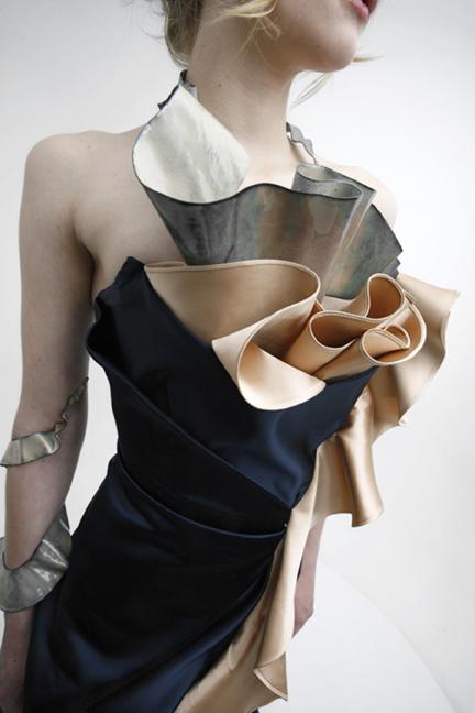 Ribbons - 2009 - enameled copper