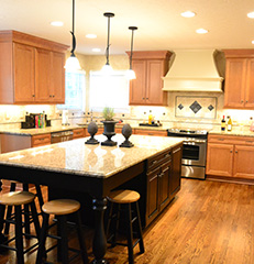 Island Eating Westerville, Ohio, Kitchen Remodel