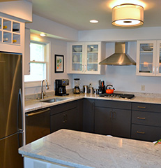 Dual-Toned Columbus, Ohio, Kitchen Remodel