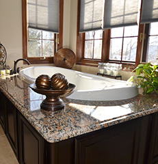 Luxury in Chocolate    Worthington, Ohio, Bathroom Remodel