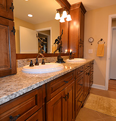 Lightened Up    Upper Arlington, Ohio, Bathroom, Kitchen and Laundry Room Remodel