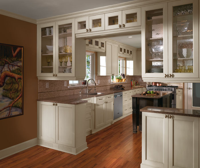 Weathered slate kitchen cabinets for Kitchen craft cabinets