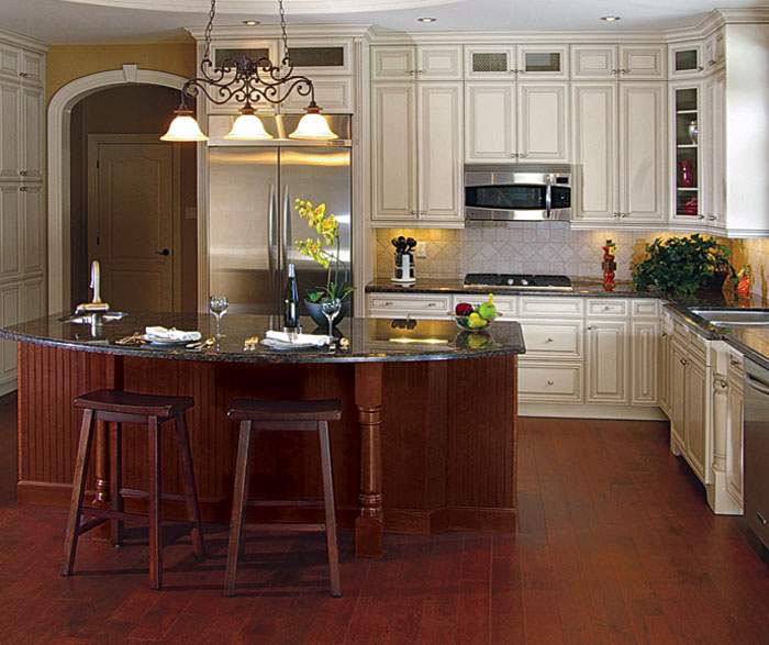Kitchen Cabinet Doors Different Color Than Frame: Kitchens And Baths