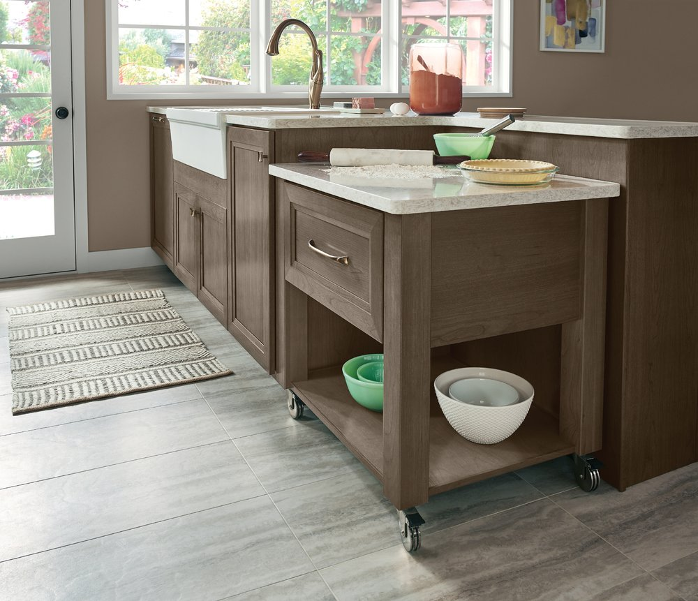 Versatile Floating Islands From KraftMaid Make Us LOVE Our Kitchen U2014 The  JAE Company