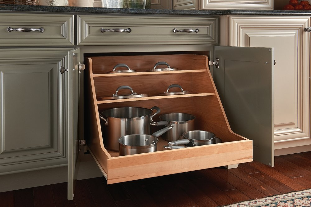 Beautiful This Angled Spice Rack Drawer Insert Is Perfect Solution To Keep Your  Spices Organized And Easy To Find! The Angled Shelves Make It Easy To Grab  What You ...