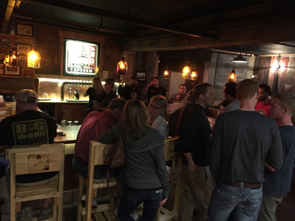 High Hoppage Event - Big Wood Brewery May 7th, 2015