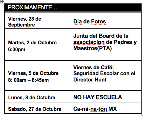 Proximamente en Español