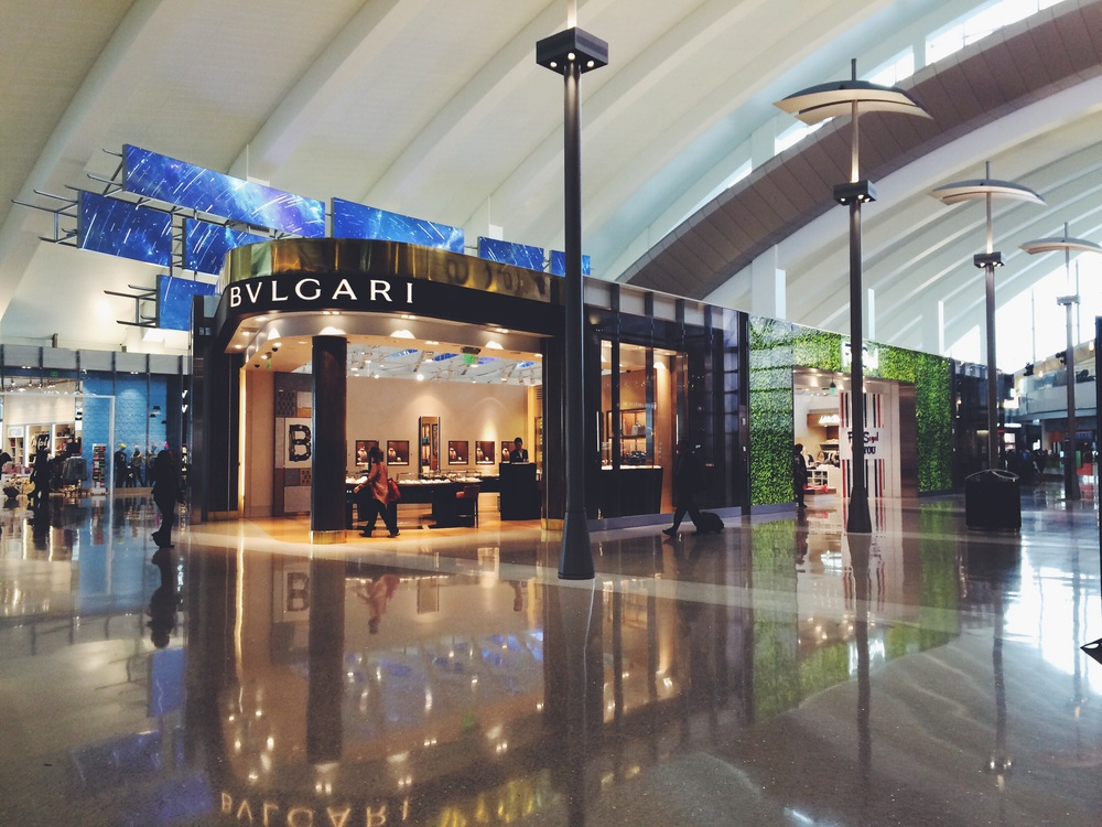 In Terminal B.