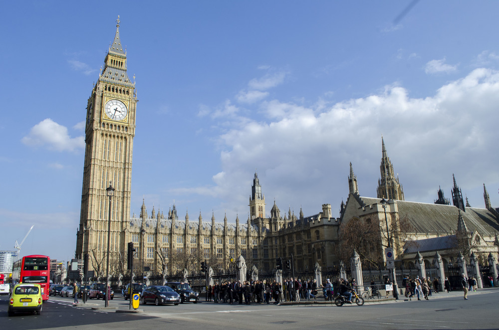 Big Ben, and Parliament.