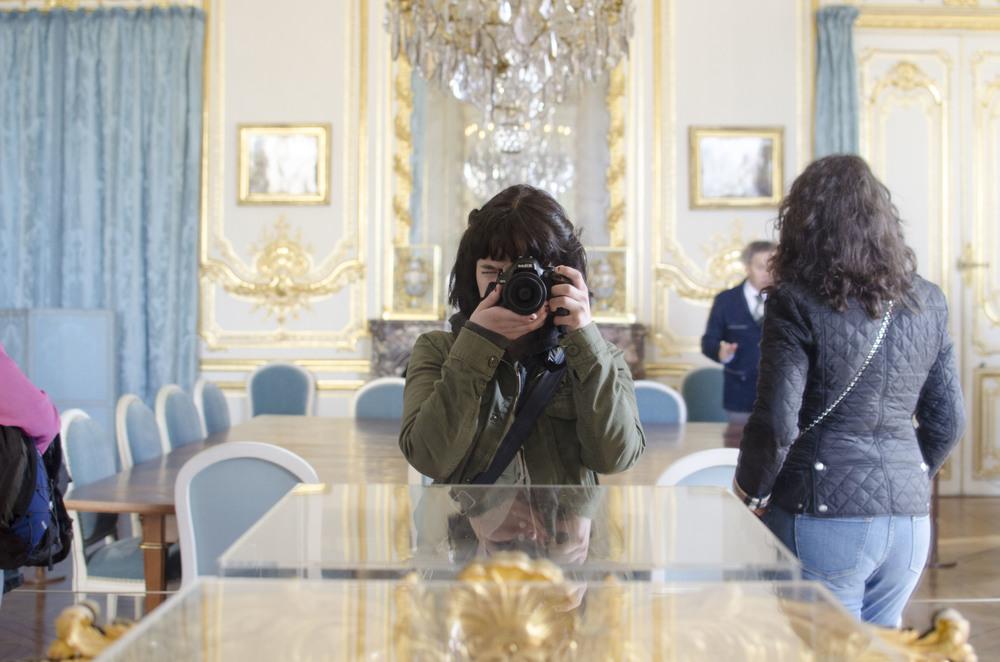Versailles Mirror Selfie.