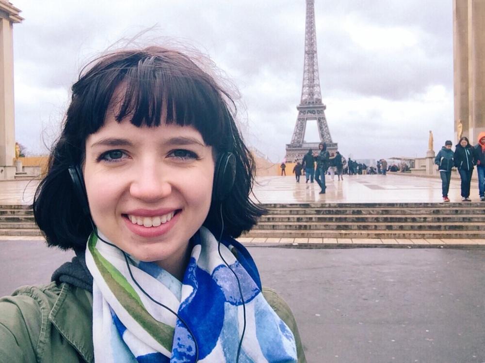 Eiffel Tower Selfie.