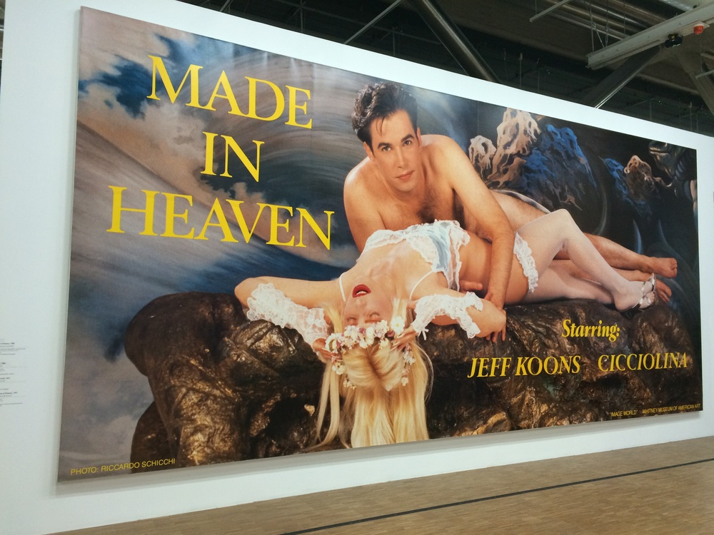 Jeff Koons, Made in Heaven.