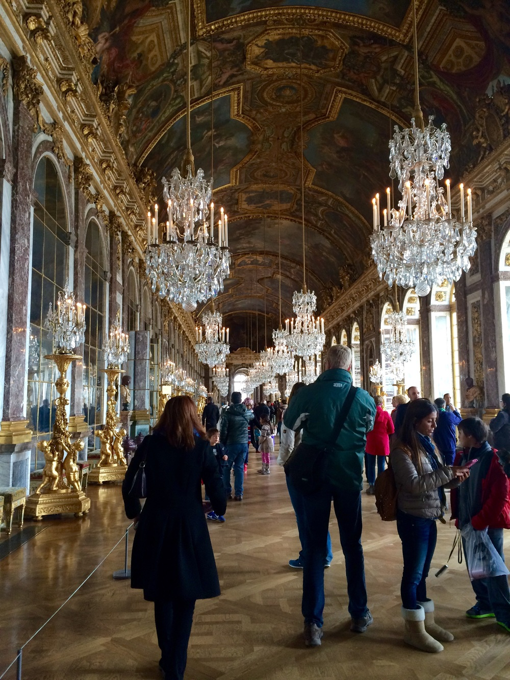 Hall of Mirrors. Versailles.