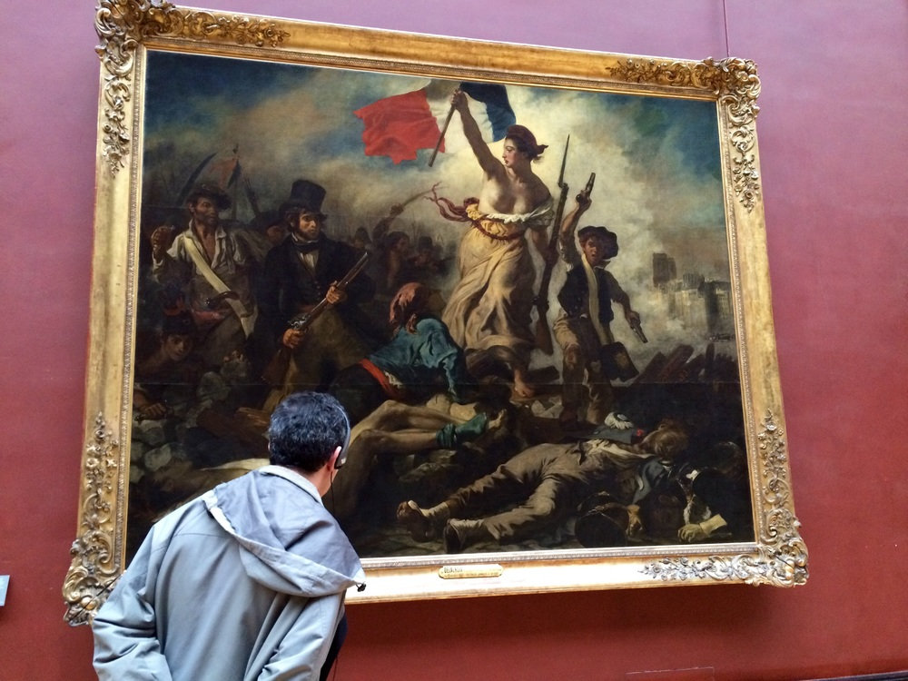 Liberty Leading the People by Eugene Delacroix.