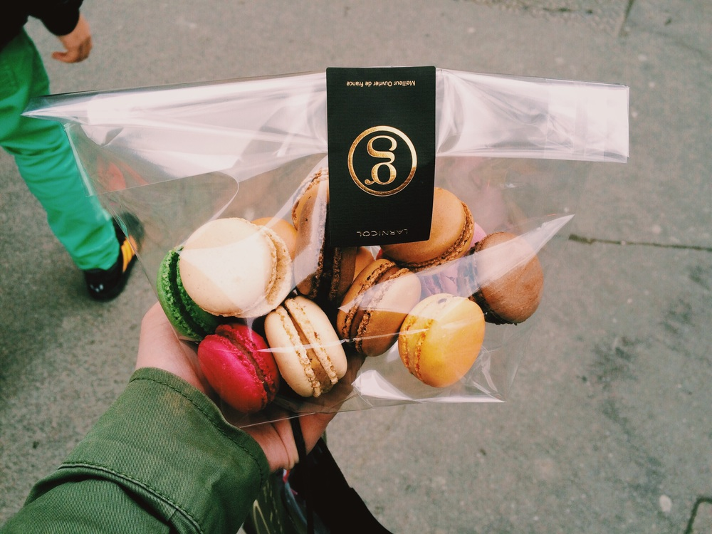 The 16 Macaroons I ate...