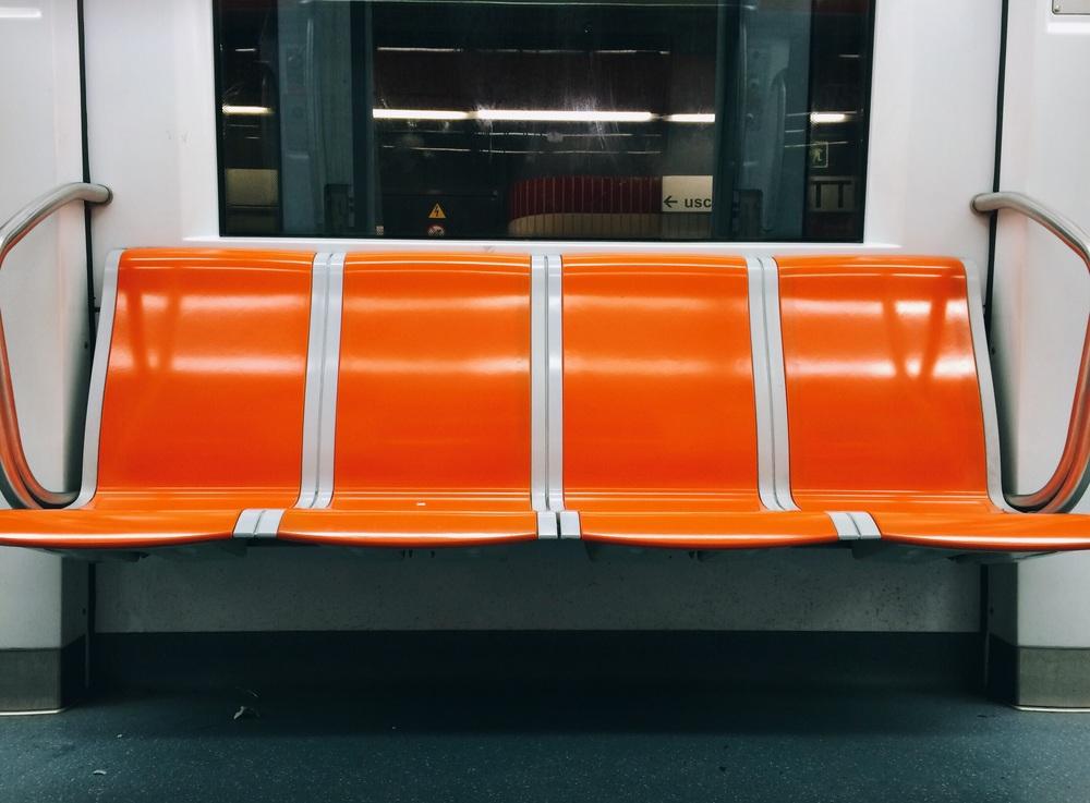 Empty metro!