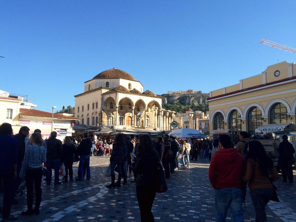 The Flea Market Area.
