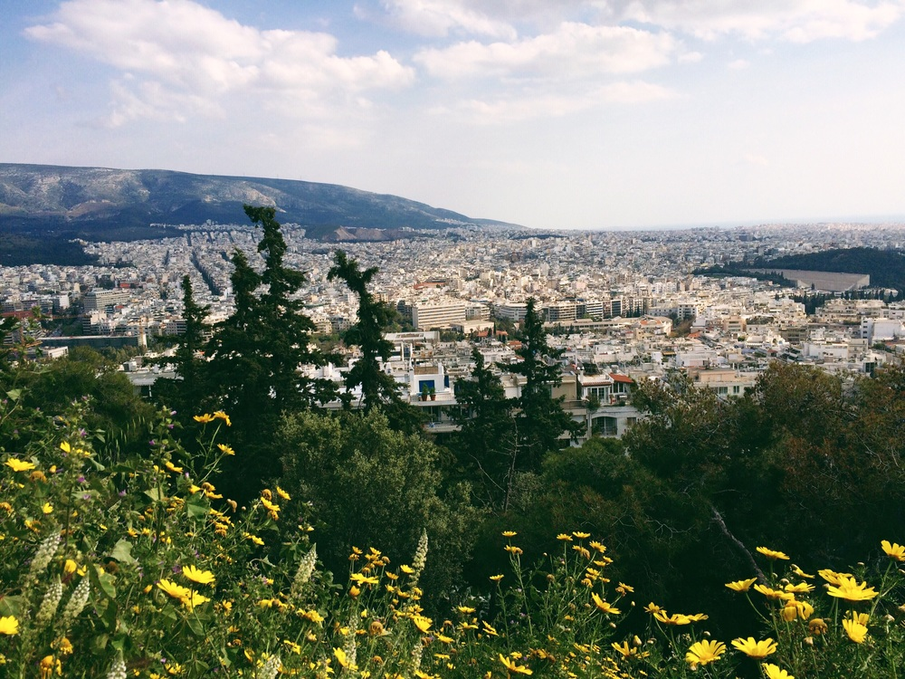 One of the views from Mount Lycabettus.