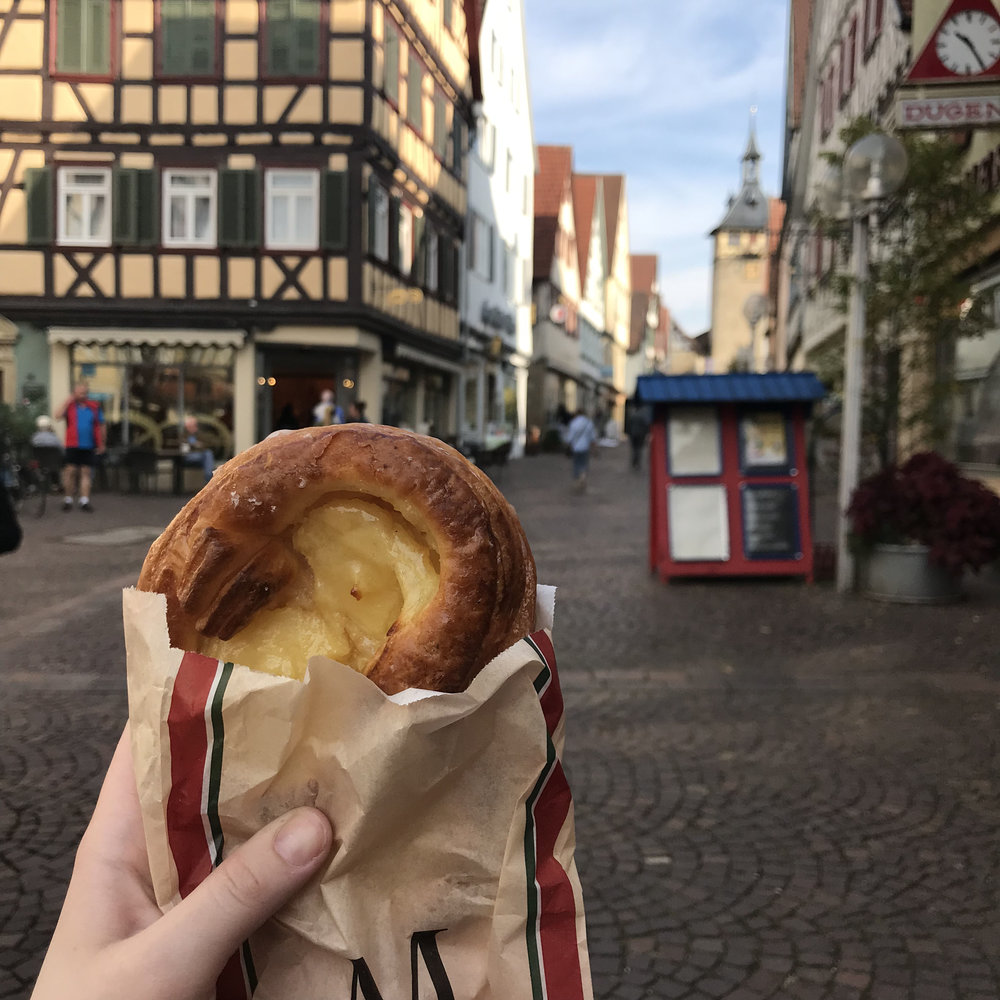 Pastry in Marbach.