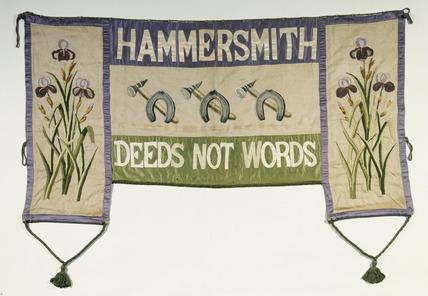 Suffragette Banner c.1911