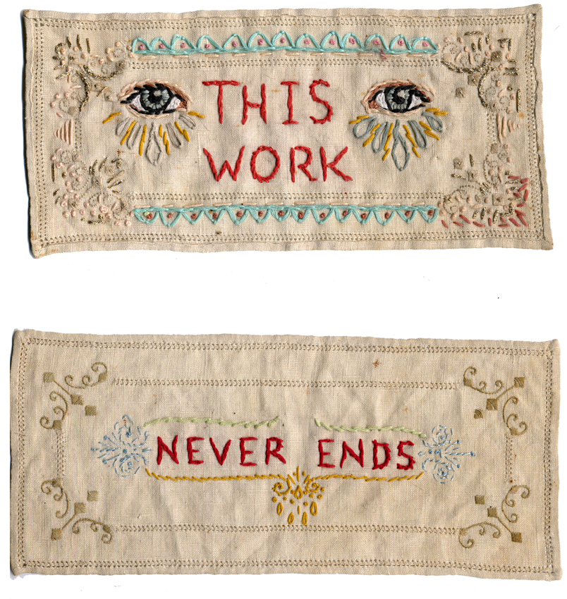 This Work Never Ends. Jenny Hart.