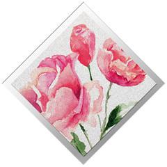 Логотип и пригласительные на свадьбу «Английская роза»..