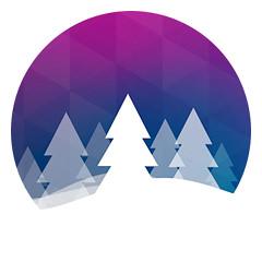 Шаблон электронного новогоднего поздравления Kiim Agency..