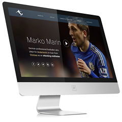 Шаблон сайта Марко Марина..