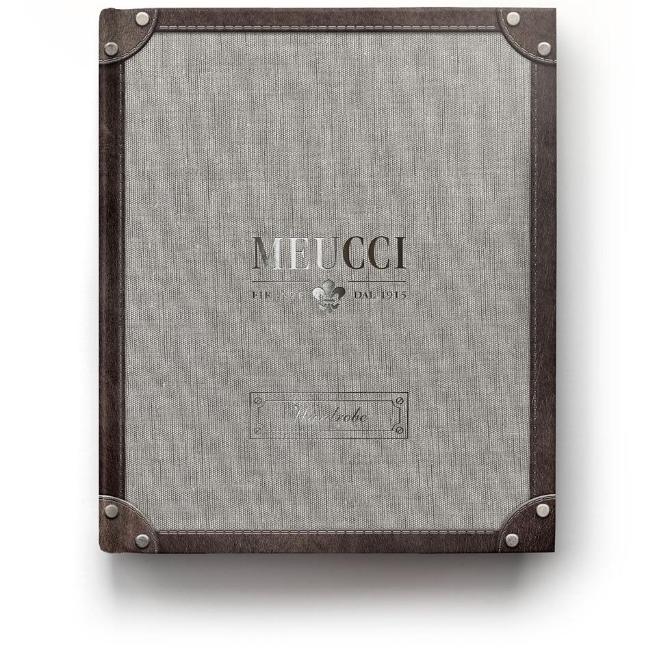 Дизайн обложки воркбука Meucci Wardrobe..