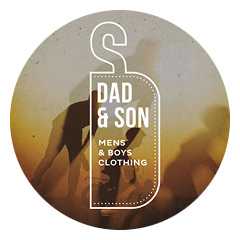 Логотип Dad & Son Clothing Co..