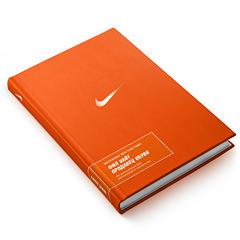 Концепция оформлениякниги «Продавец обуви. Истрия компании Nike, рассказанная ее основателем»..