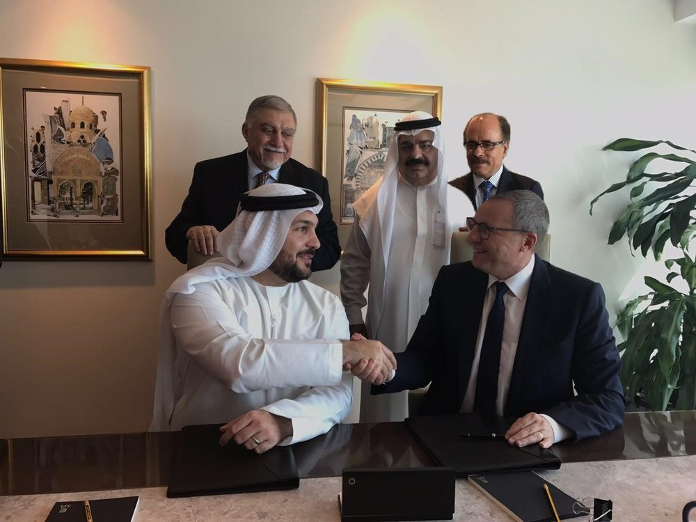 Signing ceremony between IHG and API Hotels & Resorts for Crowne Plaza® Dubai Business Bay and InterContinental Residence Suites Dubai Business Bay.jpg