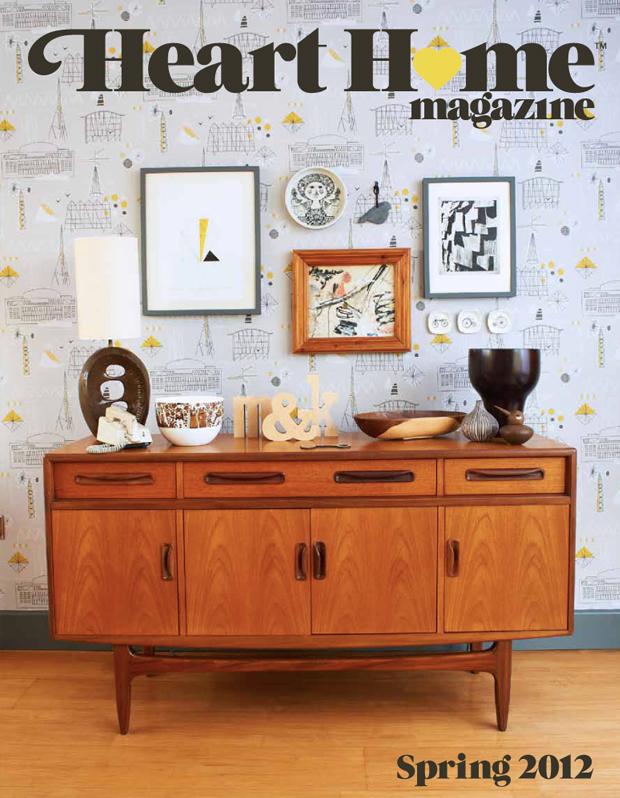 Magazine Heart Home