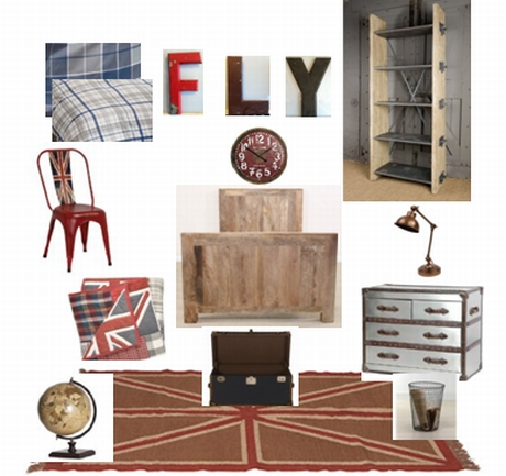 bedroom ideas for industrious boys