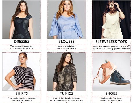 Fashionable Clothing For Plus Sized Shoppers Heart Home