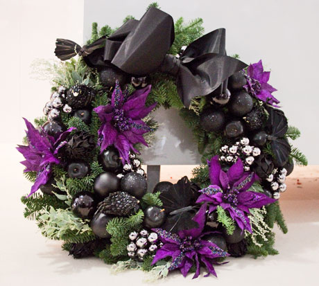 How To Make A Christmas Door Wreath Demo By Florist Simon