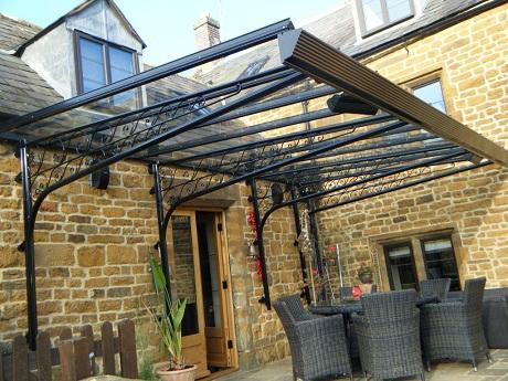 123v-black-verandas (1) & Decorate Your Home with a Domestic Canopy or Veranda u2014 Heart Home