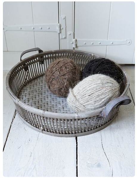 Bamboo Basket - Low, £49.95 - Nordic House