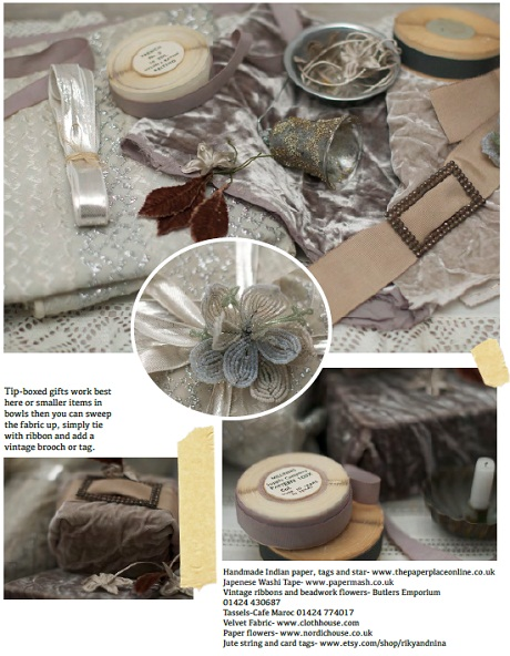 Christmas all wrapped up by Jeska Hearne for Heart Home mag [4]