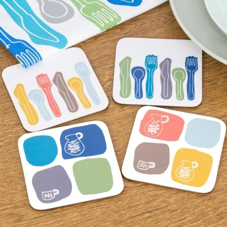 Anna Dent coasters